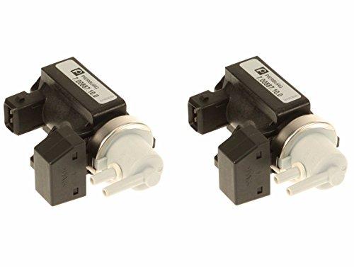 Set of 2 Turbocharger Boost Solenoid Valves Pressure Converter Sensors OEM for BMW
