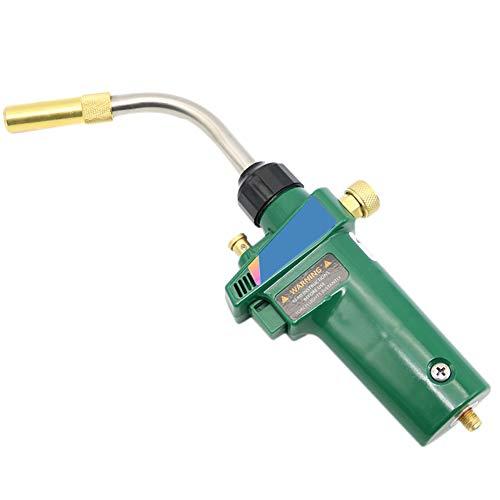 Mapp Gas Brazing Torch Self Ignition Trigger Propane Welding Heating BBQ HVAC Plumbing Jewelry CGA600 Burner 15M Hose