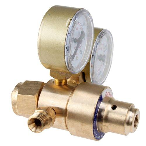 Welding Gas Welder Oxygen Regulator  AGPtEK Welding Gas Welders for Cutting Victor Torch Kits with CGA 540 Inlet