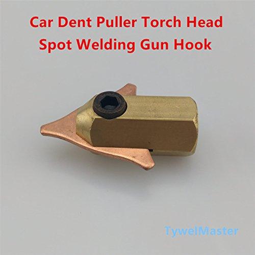 Spot Welding Torch Head Dent Puller Gun Hook Triangle Washer Connector