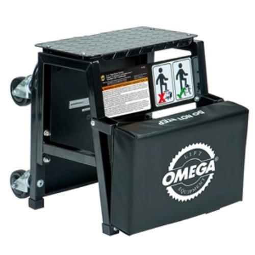 Omega Lift 91305 2-n-1 Mechanics Creeper Seatstep Stool