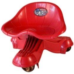 The Bone BH5131 The Tail Bone Rough Rider Mechanic Seat Bonecreeper - Blackhawk 350 Lbs Capacity Red