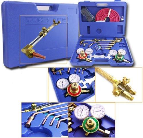 Generic  ol Case Kit Oxygen Torch etylene Welder Tool C Victor Type Gas Victor Acetylene Welder Cuttin Welding Cutting r Type Gas W Tool Case