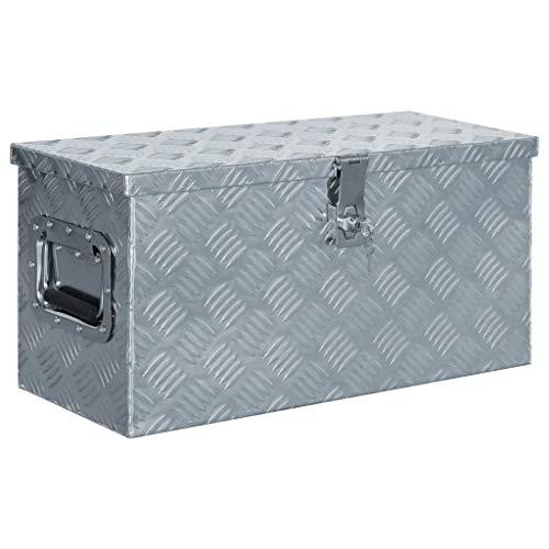 Unfade Memory Aluminum Box 212x104x118 Tool Box Storage for Truck PickupCamping Trip