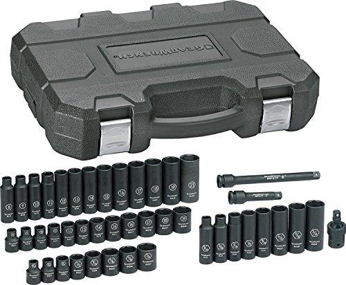 GearWrench 84916N SAEMetric 38 Drive Impact Socket Set 44 Piece