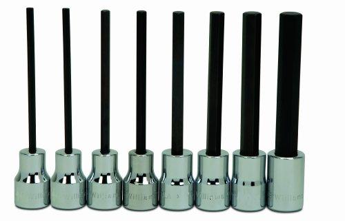 Williams 31951 7-Piece Hex Bit Socket Set
