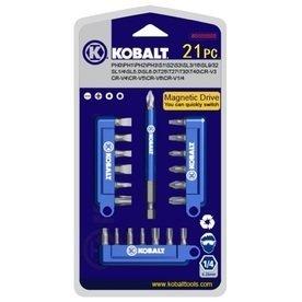 Kobalt 21 Piece Screwdriver Bit Set - Item 0394480