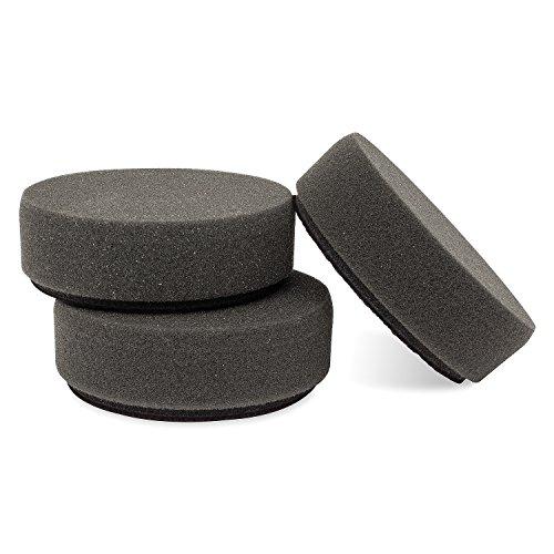 Griots Garage 11274 3 Black Foam Finishing Pads Set of 3