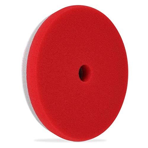 Liquid X Refine 65 FinishingPolishing Pad Dual Density Foam - Red Polishing Pad