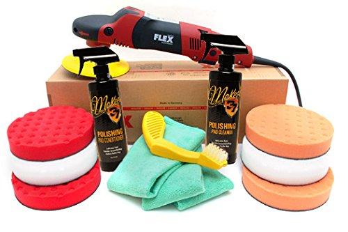 Flex PE14-2-150 Rotary Polisher 65 Inch CCS Pad Kit