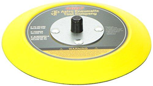 Astro Pneumatic Tool 4607 5 PU Hook Loop Backing Pad