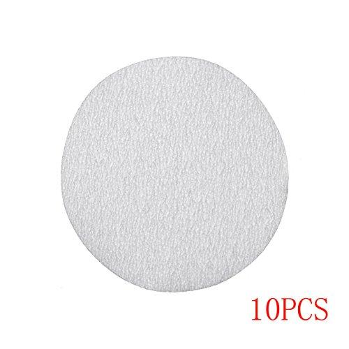 JRL 10 Pcs 4 inch 100mm 120 Grit Sander Disc Sanding Polishing Pad Sandpaper Disc
