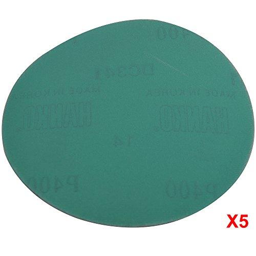 Wet Dry 5 Inch No Hole Sand Paper Disc 400 Grit Bodykit Repair Sandpaper 50 PC Amazon