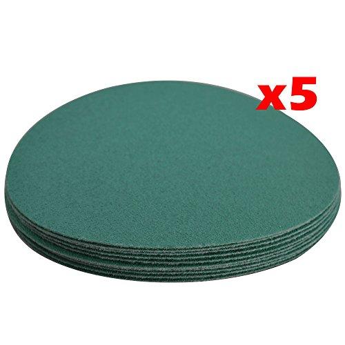 Wet Dry 5 Inch No Hole Sand Paper Disc 600 Grit Bodykit Repair Sandpaper 50 PC Amazon