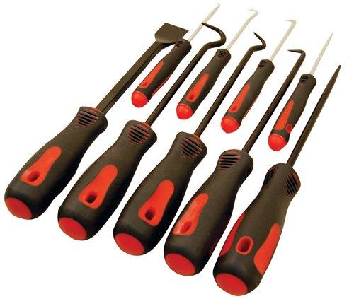 ATD Tools 8424 9-Piece Scraper Hook and Pick Set