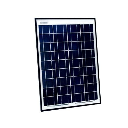 ALEKO PP20W12V 20 Watt 12 Volt Polycrystalline Solar Panel for Gate Opener Pool Garden Driveway