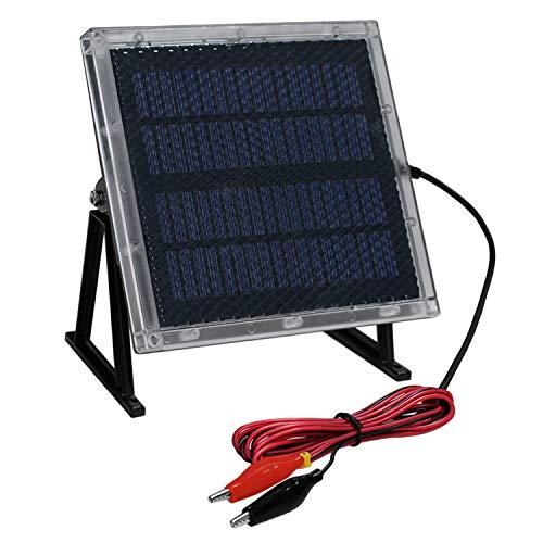Universal Power Group 12-Volt Solar Panel Charger for 12V 8Ah Big Game Feeder Battery