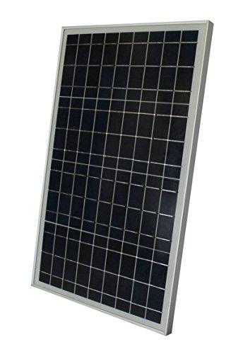 WindyNation 30 Watt 30W Polycrystalline 12V 12 Volt Solar Panel Battery Charger - Boat RV Gate Off-Grid