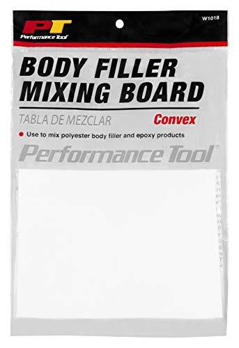 Performance Tool - Body Filler Mixing Board W1018 Auto Body Repair