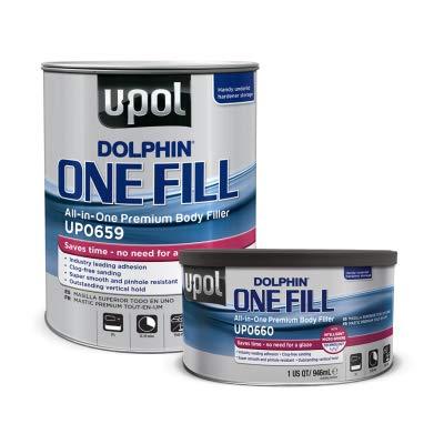 U-Pol Dolphin ONE-FILL All-IN-One Premium Body Filler - Quart
