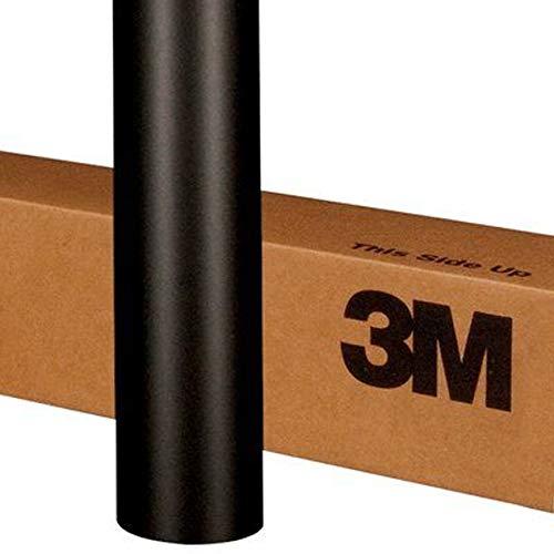 3M 1080 M12 MATTE BLACK 5ft x 2ft 10 Sqft Car Wrap Vinyl Film