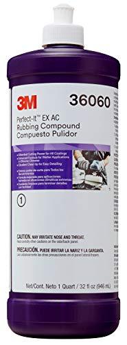 3M Perfect-It EX AC Rubbing Compound 36060 Quart