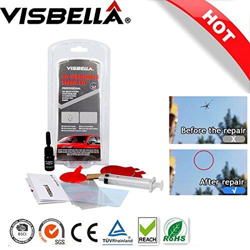Visbella DIY Windshield Repair Kits Restored Glass Tool For Chip Crack Fix Windscreen