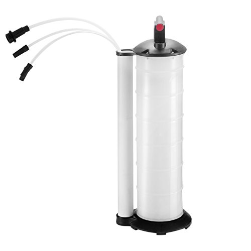 Mophorn 7Liter Fluid Evacuator Manual Oil Changer Vacuum Hand Operated Engine Oil Change Fluid Extractor Pump Tank Remover 7L