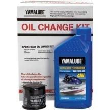 Yamalube Watercraft Oil Change Kit 1Ktt 10W40 Wv Qty3