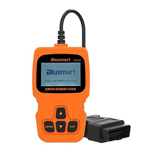 Blusmart Universal OBD2 Scanner Car Engine Fault Code ReaderEnhanced OBD II Code Reader Diagnostic Scan Tool For CarSUVTruck And Van
