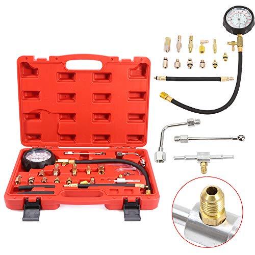 OCPTY 0-140 PSI Fuel Injection Pump Pressure Tester Test Pressure Gauge Tool Kit