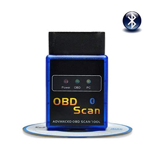 DingSheng Mini OBD2 Bluetooth Elm327 V21 Car Diagnostic Scan ToolOBDII Scanner Adapter Check Engine Light Code Reader for Torque Android