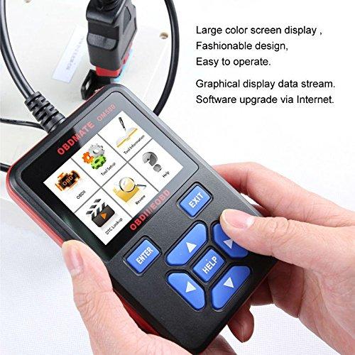 OBDMATE OM580 CAN OBD2 OBDII EOBD Engine Code Reader Hand-held Tester Scanner Auto Car Vehicle Diagnostic Scan Tool