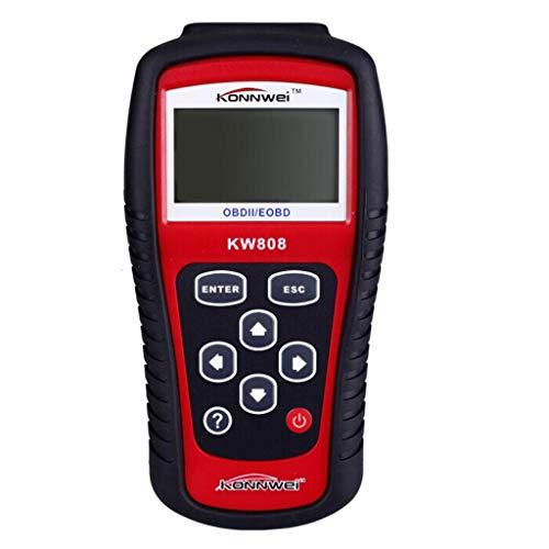 Sayolala Automotive Scanner KW808 Car Fault Code OBD2 EOBD Diagnostic Scanner MIL Reset Reader Scan Tool Multi Languages