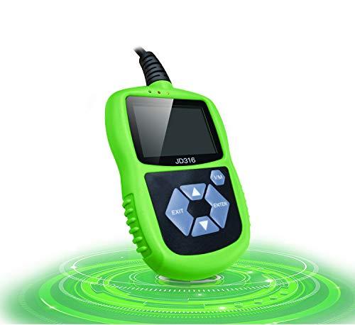 WUAZ OBD2  EOBD Car Computer Fault Scanner Code Reader Car Fault Diagnostic Instrument