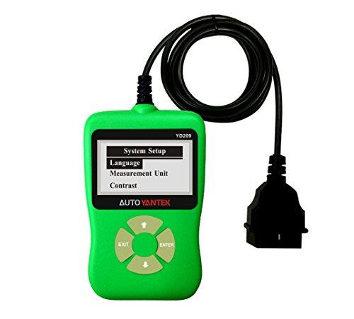 Car OBDII Scanner Eobd Code Reader Diagnostic Scan Tool for OBDII Vehicles