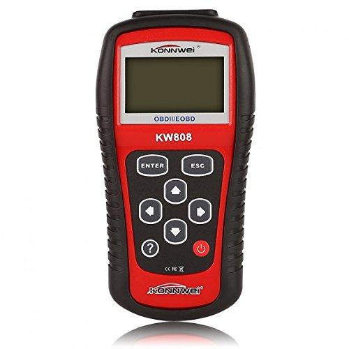 KONNWEI X005 KW808 OBDIIEOBD Code Reader and Auto Scanner OBD2