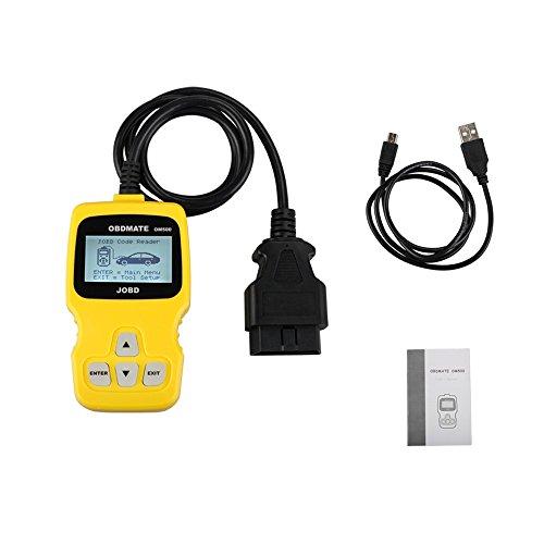 OBDMATE OM500 JOBD OBDII EOBD Engine Code Reader OBD2 Scanner OM500 Professional Car Diagnostic Tool OBD2 Code Readers for Vehicles