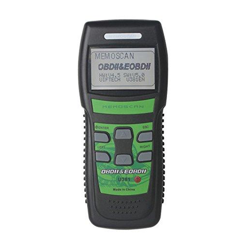 U381 LIVE DATA OBD2 Code Reader OBD2 EOBD Diagnostic Code Reader Scanner