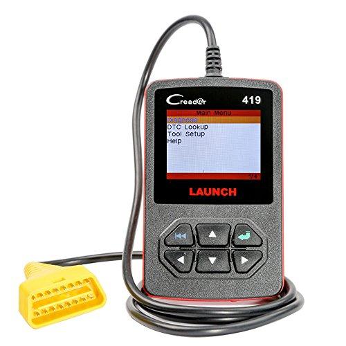 Launch Creader 419 CR419 Car Code Reader Engine Fault Scanner OBDII EOBD Diagnostic Tool
