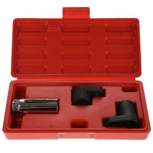 3Pc 12 38 Drive Auto Car 78 22mm O2 Oxygen Sensor Socket Wrench Tool Set