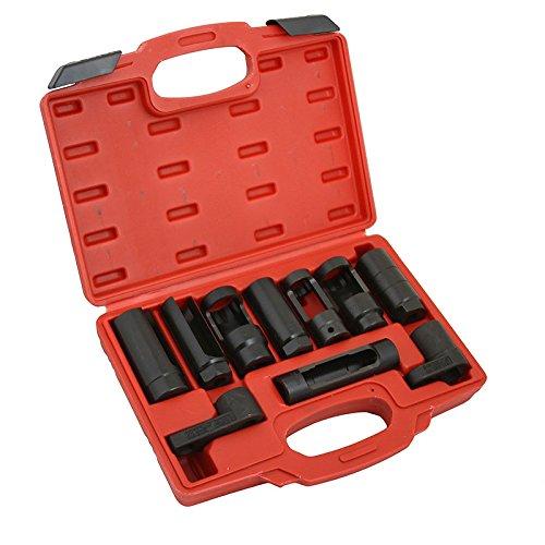 Automotive Oxygen Sensor Socket Set 10PC Socket Set