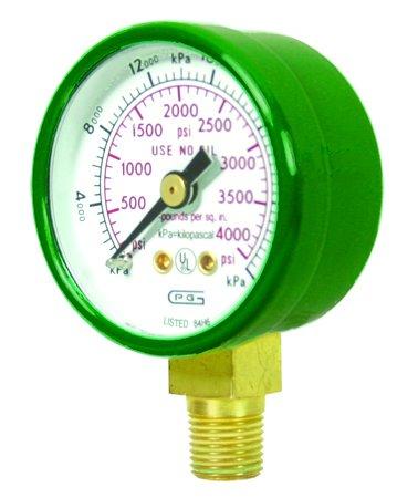 G15-4000 GENTEC 15 INCH 4000 PSI Pressure Gauge