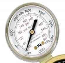 G25B-F600 GENTEC 25 inch 600 PSI Pressure Gauge