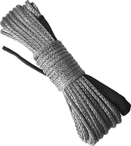 X-BULL SK75 14 x 49 Dyneema Synthetic Winch Rope (10000LBS)(Gray)