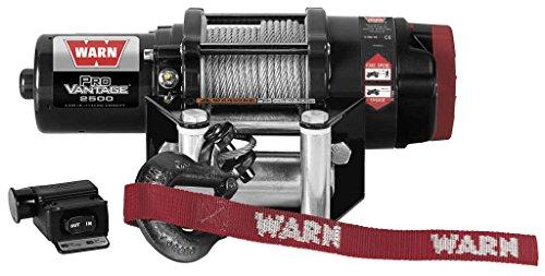 New Warn ProVantage 2500 lb Winch With Model Specific Mounting Hardware - 2009-2014 Polaris Sportsman 550 XP ATV