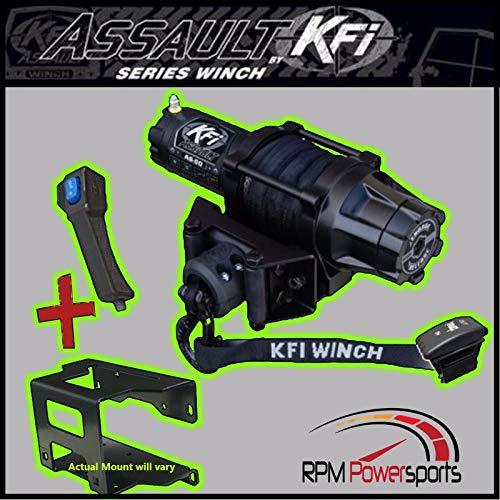 Polaris Ranger 900 KFI for Assault 5000LB Winch Mount 2013-2019
