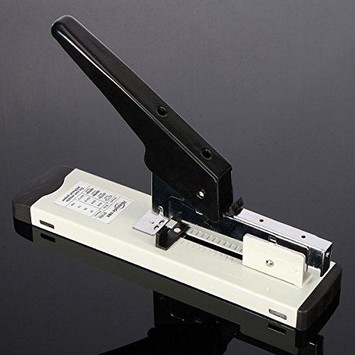 New Heavy Duty Metal Stapler Bookbinding Stapling 120Sheet Capacity For Office Home