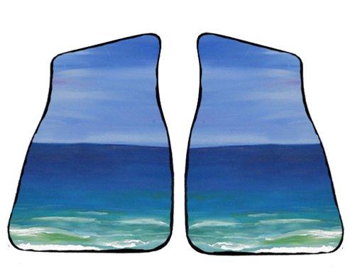 Beautiful Beach Art Auto Car Floor Mats