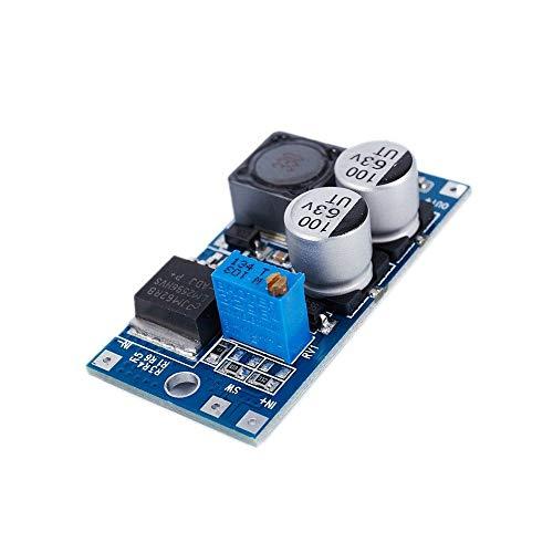 Acxico 1Pcs LM2596HV DC-DC 5-55V to 125-26V Adjustable Buck Power Module Step Down Voltage Switching Regulator Module